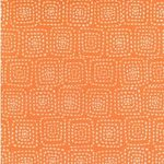 Square stitch orange