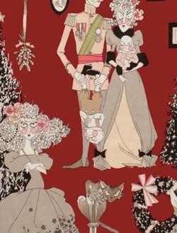 Alexander Henry Ghastlie Holiday Red