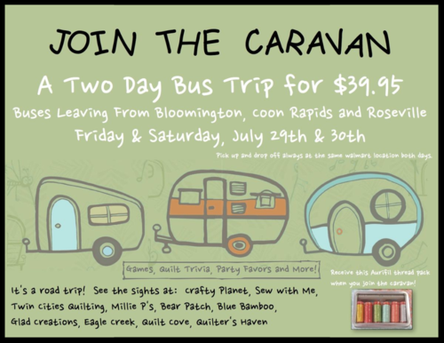 Ad - Join our caravan