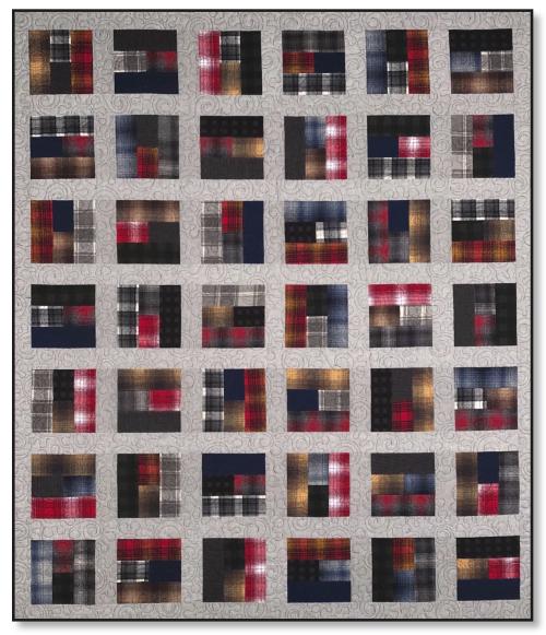 Paint Pots Flannel Photo